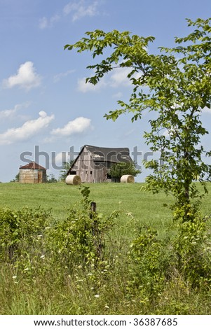 Old farm in the countryside