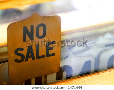 Old fashion cash register used pop-up tabs (new!) to indicate transaction. - stock photo