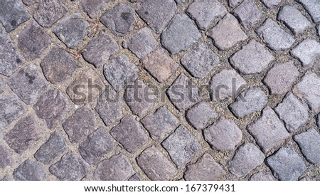old fashioned cobble stone background