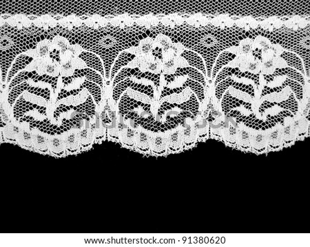 Old Fashioned Lace 1 - stock photo