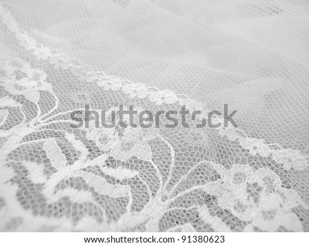 Old Fashioned Lace 3 - stock photo