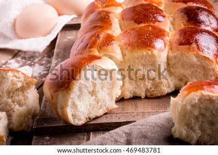Old Fashioned Pull Apart Buns Homemade Yeast Rolls Or Bread Recipe Soft And Fluffy