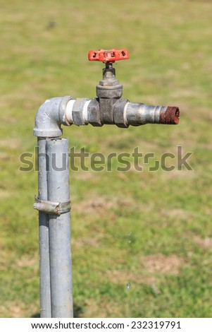 Old Faucet Old Rusty Water Tap Stock Photo (Royalty Free) 232319791 ...