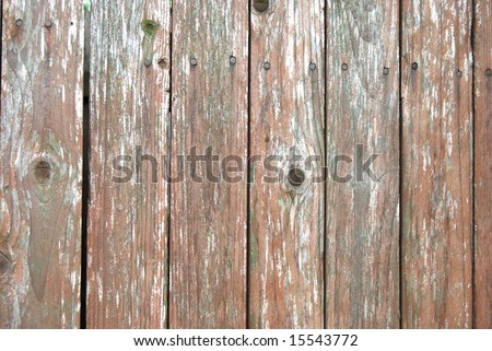 Old fence background - stock photo