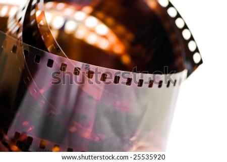 Old film - stock photo