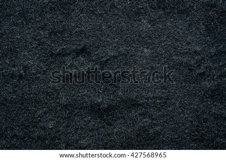 Old flannel black background texture