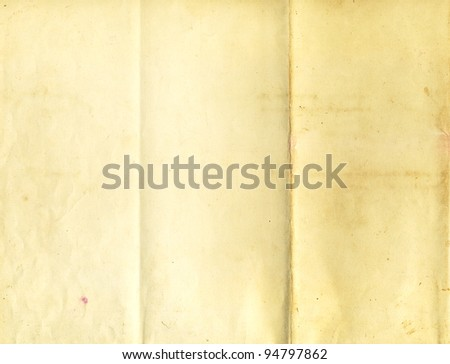Old folder paper texture for background - stock photo
