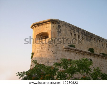 Old fortification in Malta
