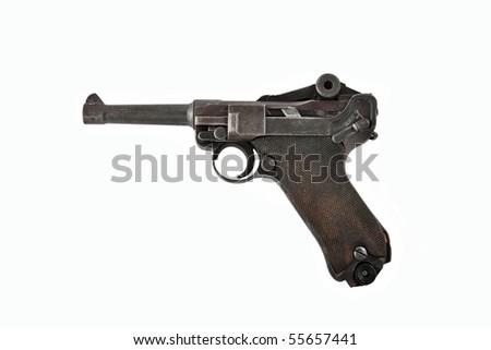 Old German military WW 2 gun! - stock photo