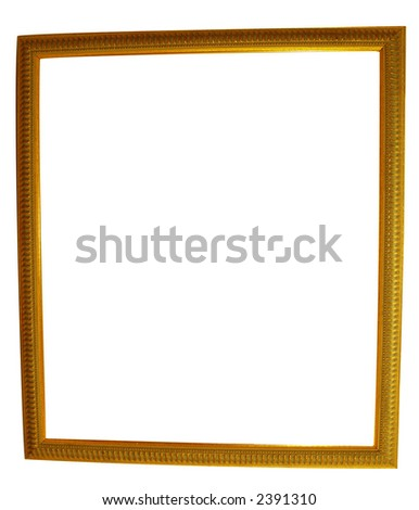 OLD GILT FRAME FOR YOU TO FILL