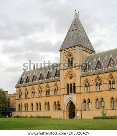 Old Gothic Building in Oxford, United Kingdom - stock photo
