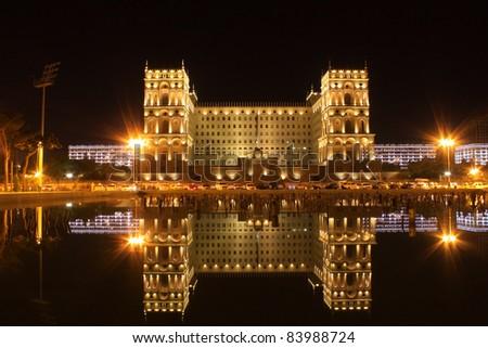 Old Government House in Baku,Azarbaijan. - stock photo