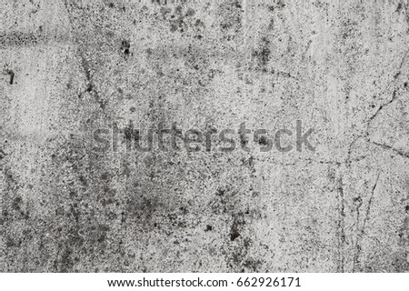 Old gray grunge texture with cracks are for background