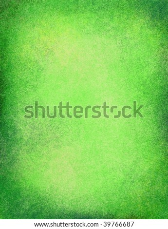 old green parchment or paper background - stock photo