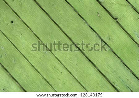 old green wood board texture - stock photo