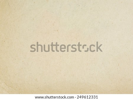 old grunge antique paper texture - stock photo