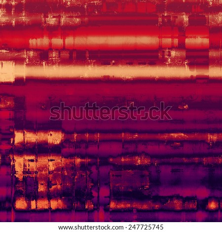 Old, grunge background or ancient texture. With different color patterns: red (orange); yellow (beige); purple (violet); pink - stock photo