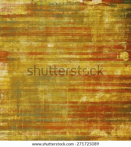 Old, grunge background texture. With different color patterns: yellow (beige); brown; gray - stock photo