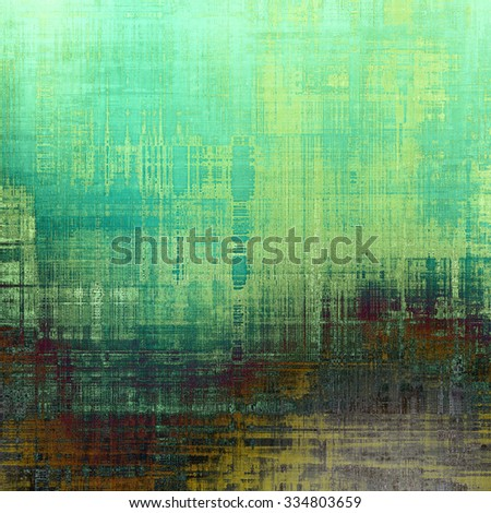 Old, grunge background texture. With different color patterns: yellow (beige); brown; green; blue - stock photo