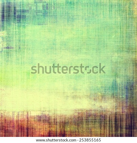 Old, grunge background texture. With different color patterns: yellow (beige); green; blue; red (orange); purple (violet) - stock photo