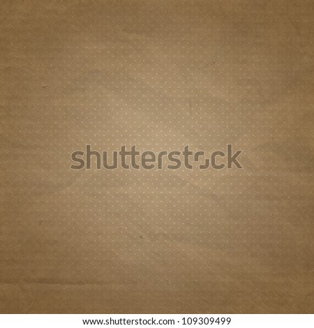 old grunge background texture with dots - stock photo