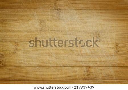 old grunge cutting board - stock photo