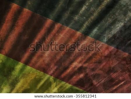 old grunge flag of Germany - stock photo