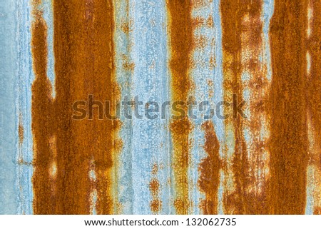Old grunge metal texture for background&wallpaper - stock photo