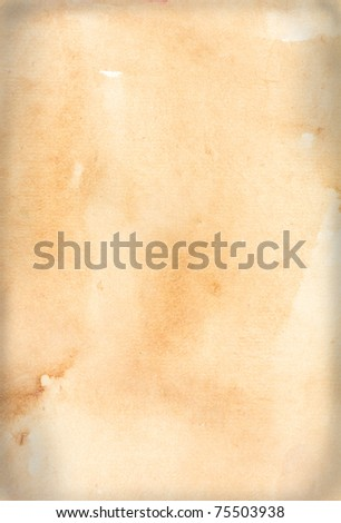 Old grunge paper texture - stock photo