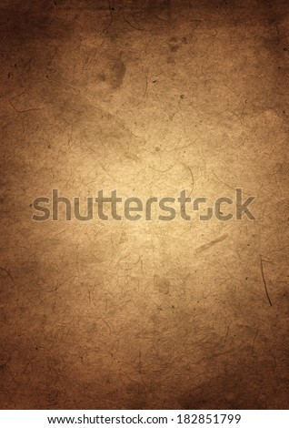 Old grunge parchment paper texture background - stock photo