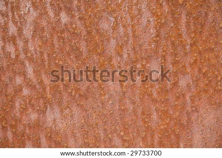old grunge rusty steel surface - stock photo