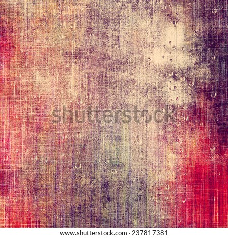 Old grunge template. With different color patterns: purple (violet); red; brown; yellow - stock photo