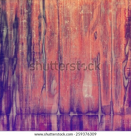 Old grunge textured background. With different color patterns: brown; purple (violet); red (orange); pink - stock photo