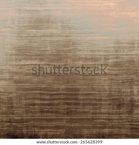 Old grunge textured background. With different color patterns: yellow (beige); brown; gray - stock photo