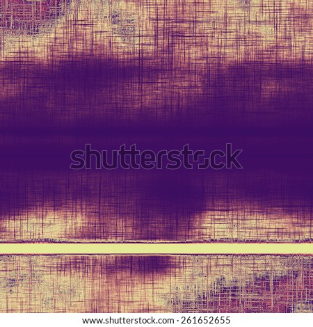 Old grunge textured background. With different color patterns: yellow (beige); gray; purple (violet) - stock photo