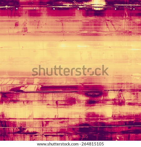 Old grunge textured background. With different color patterns: yellow (beige); purple (violet); pink - stock photo