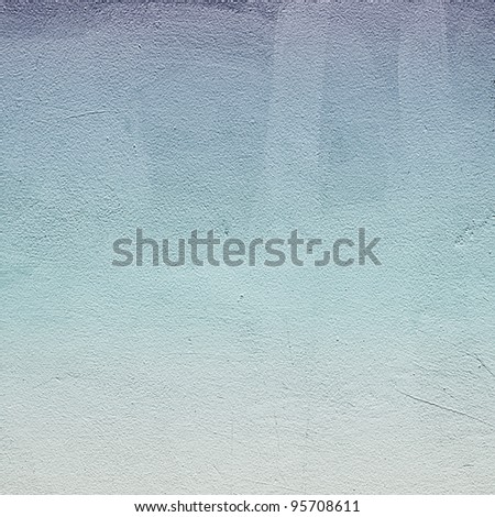 Old grunge wall for background - stock photo