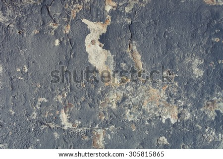 Old grunge wall texture. - stock photo