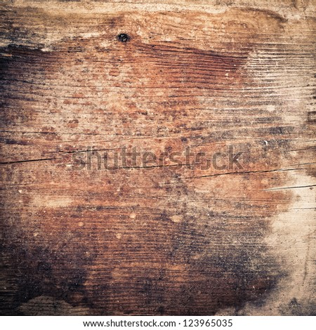 old grunge wood background texture - stock photo