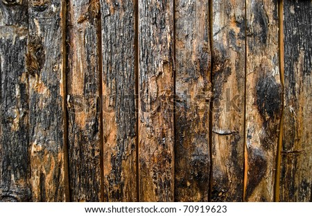 old grunge wood surface texture background - stock photo