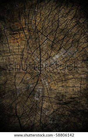 Old grunge wood texture - stock photo