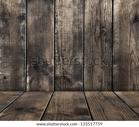 old grunge wooden boards  texture