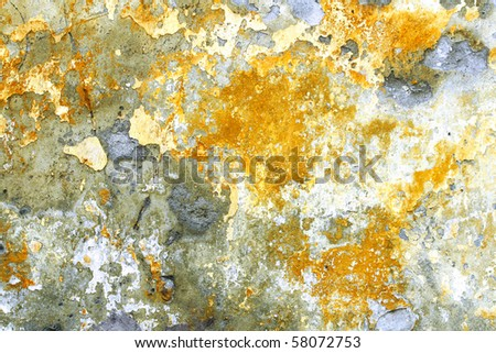 Old grungy colored wall - stock photo
