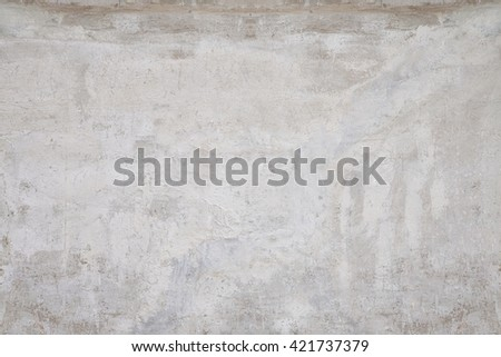 old grungy texture, grey concrete wall - stock photo