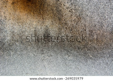 Old grungy weathered wall of house made of fiberboard - stock photo