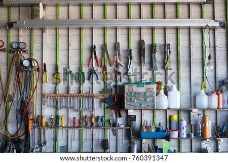 bins garage rack plastic tool of pack tidy organiser workshop parts shed shelf