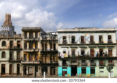 Old Havana - stock photo