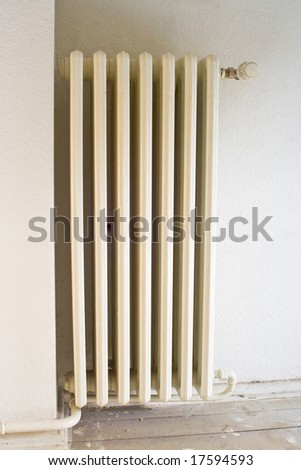 old heater - stock photo