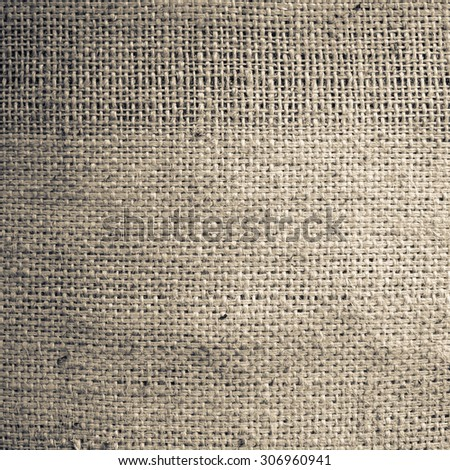 Old hessian or sack cloth texture