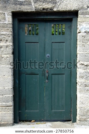 old historic door st augustine florida
